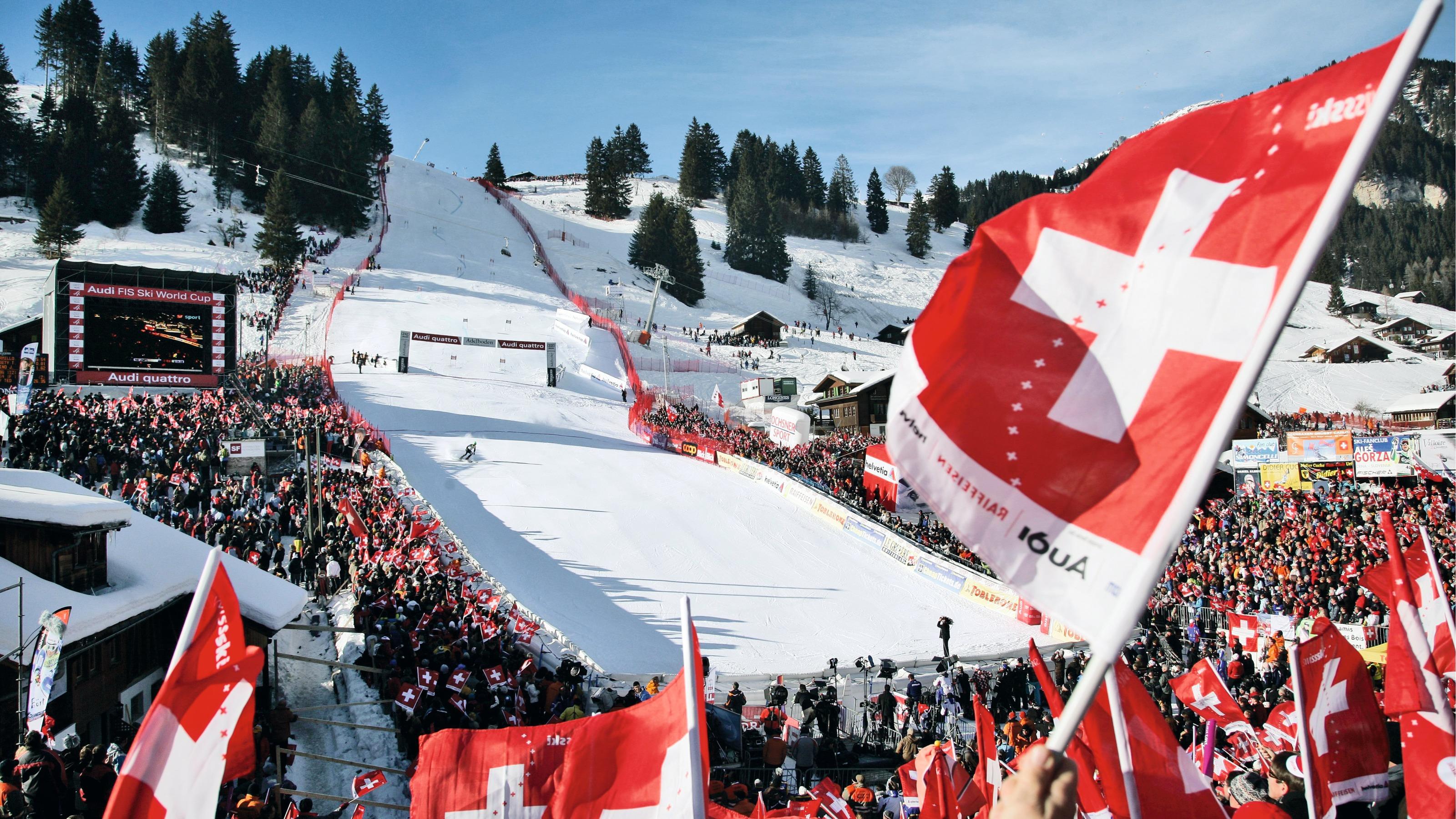 World Cup Skiing In Adelboden Switzerland Tourism