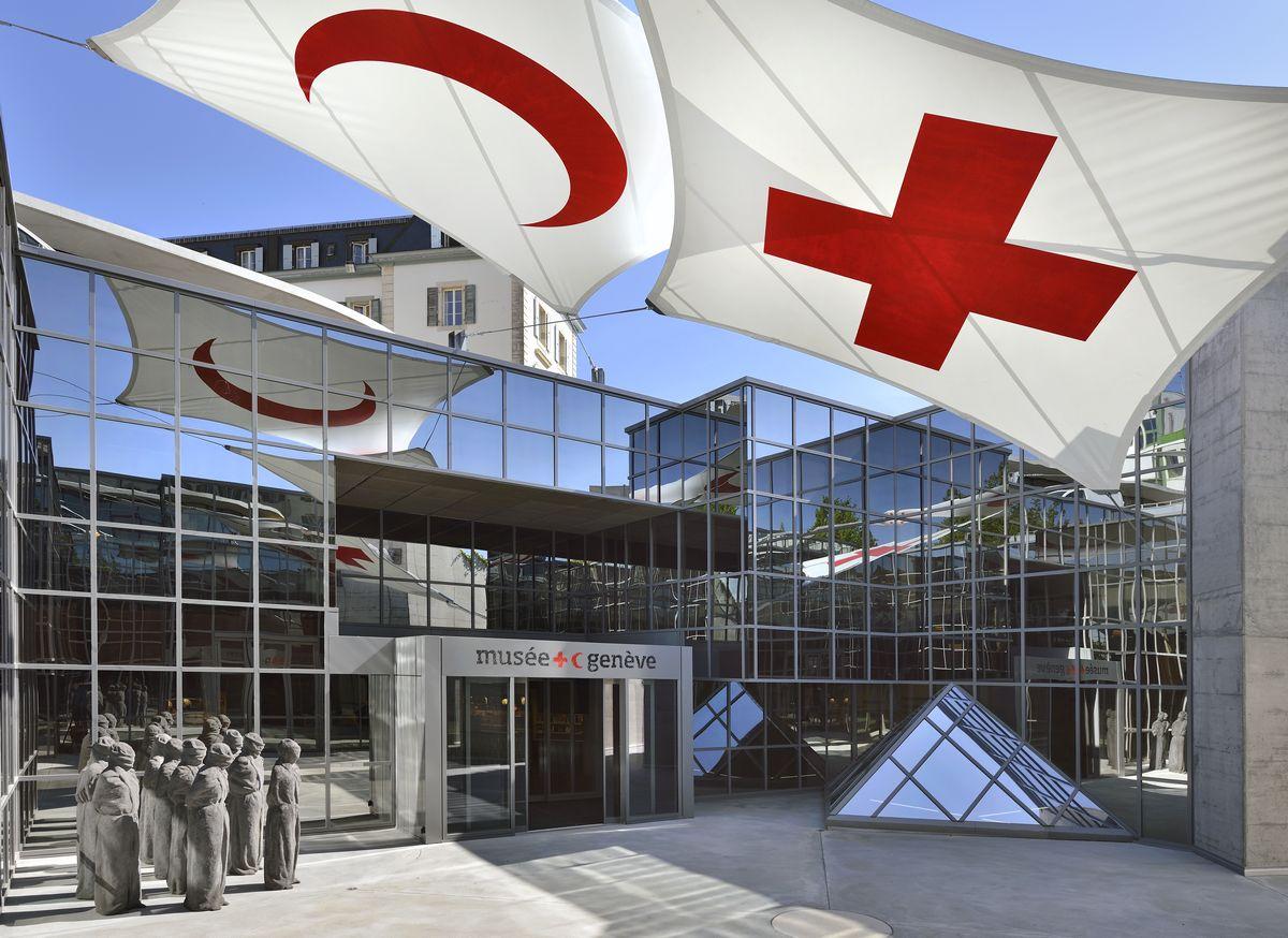 نتيجة بحث الصور عن متحف الصليب الأحمر الدولي والهلال الأحمر جنيف