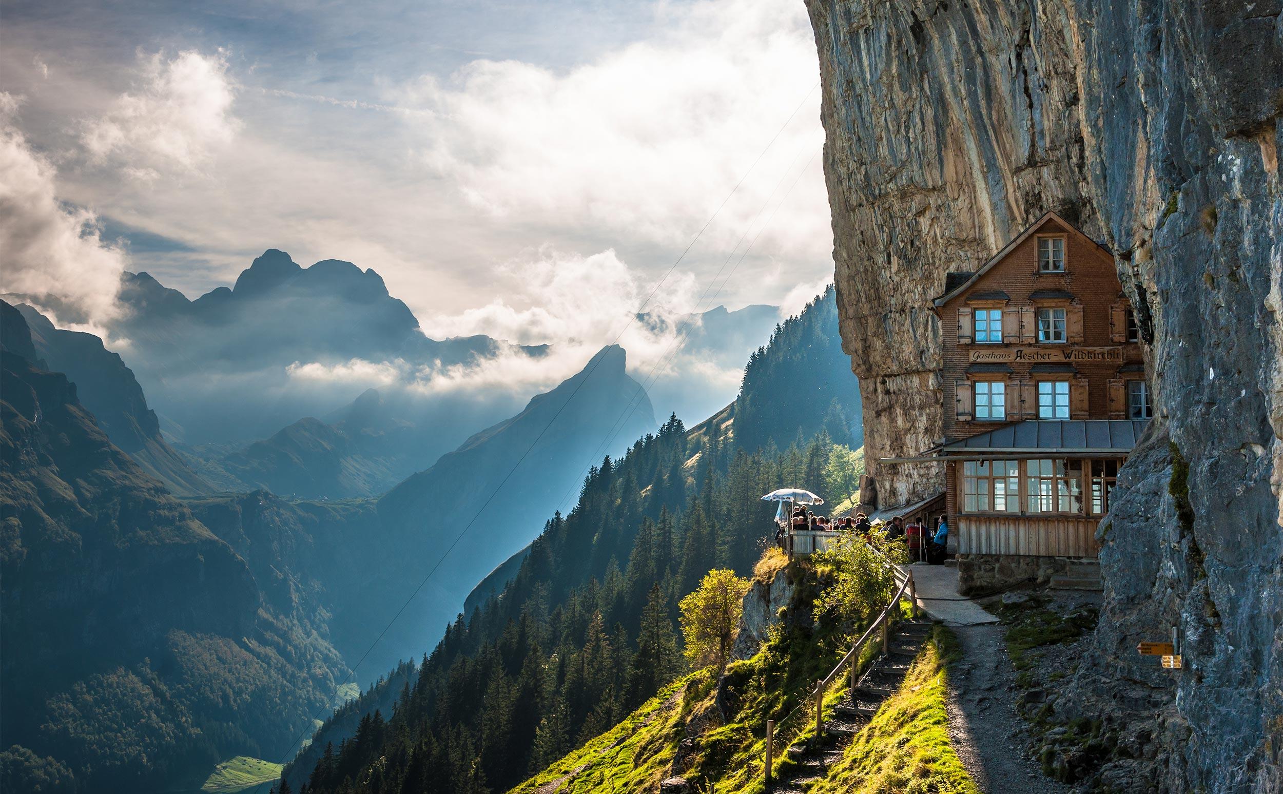 Randonnée à l'auberge de montagne Äscher | Suisse Tourisme