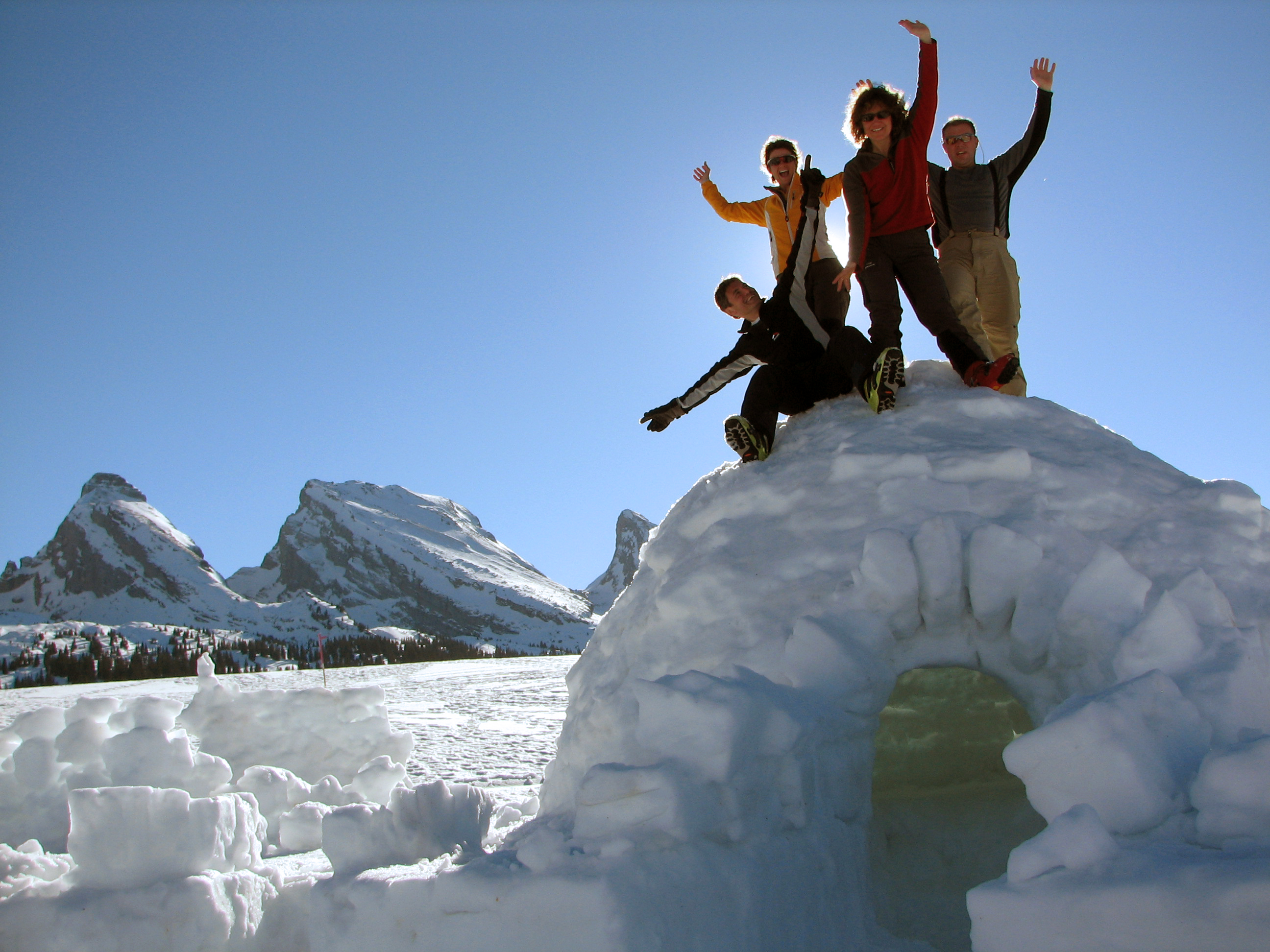 Igloo building on a mountain | Switzerland Tourism
