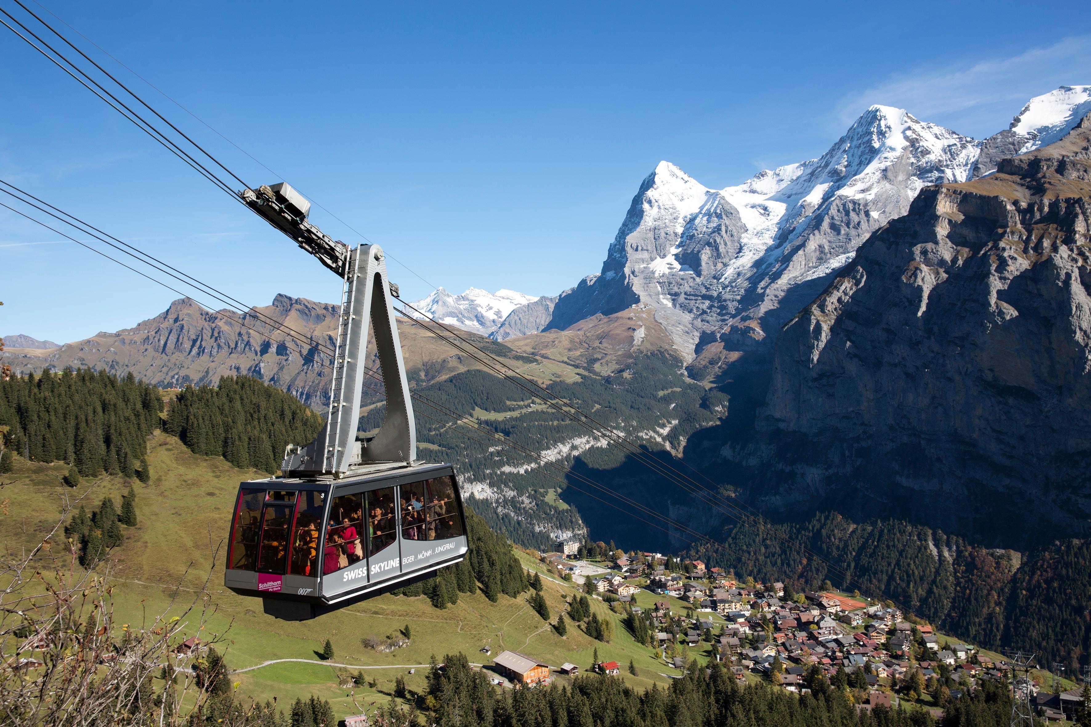 schilthorn switzerland tourism